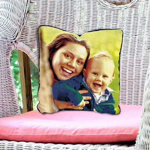 "Photo Pillows,Other Products - Woven Photo Pillow - 17"" X 17"""