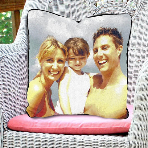 "Photo Pillows,Other Products - Woven Photo Pillow - 27"" X 27"""