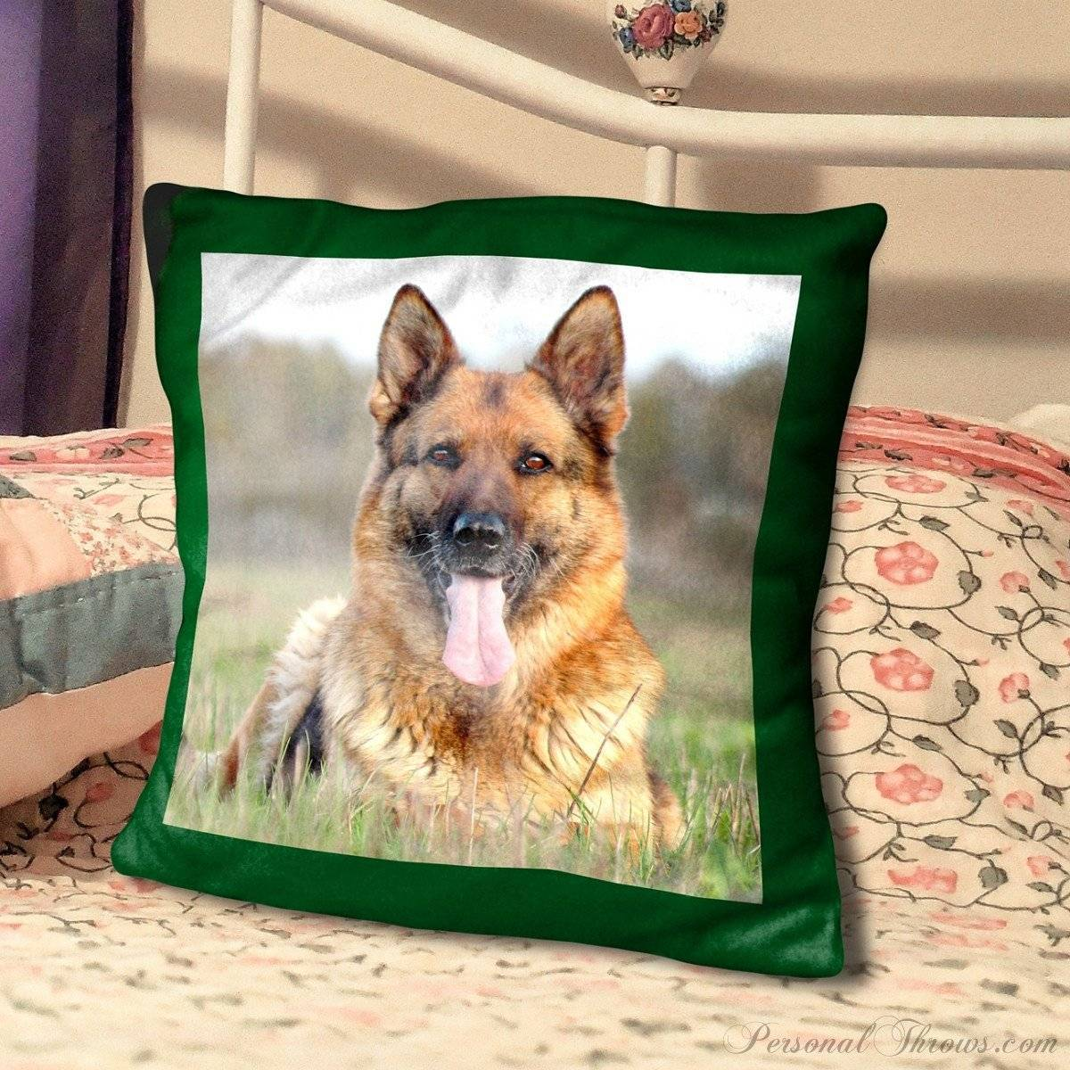 "18"" Personalized Ultra Soft Microfiber Photo Pillow"