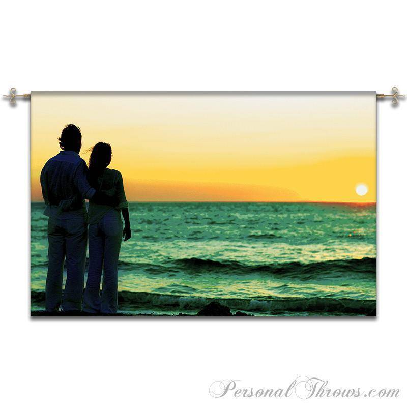 "Photo Wall Tapestry,Other Products - Jacquard Woven Photo Wall Tapestry 54"" X 80"" (X-Large)"