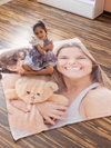 "Plush Fleece Photo Blanket - 50"" x 60"""