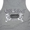 OSG Famous Tank Top Old School Gym Grey Tank Detail