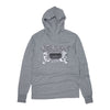 OSG Famous Hooded T-Shirt Grey Old School Gym Hoodie