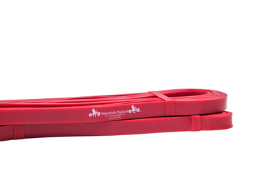 Westside Barbell Mini Band Red Workout Accessory Close Up