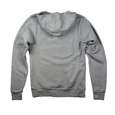 Squat Ninja Hoodie Grey Sweatshirt Back Detail