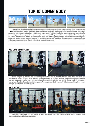 The GutCheck Guide to Bodyweight Training | E-Book By Dustin Myers