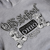 Old Schoold Gym Famous Hooded Sweatshirt Grey Hoodie Product Detail