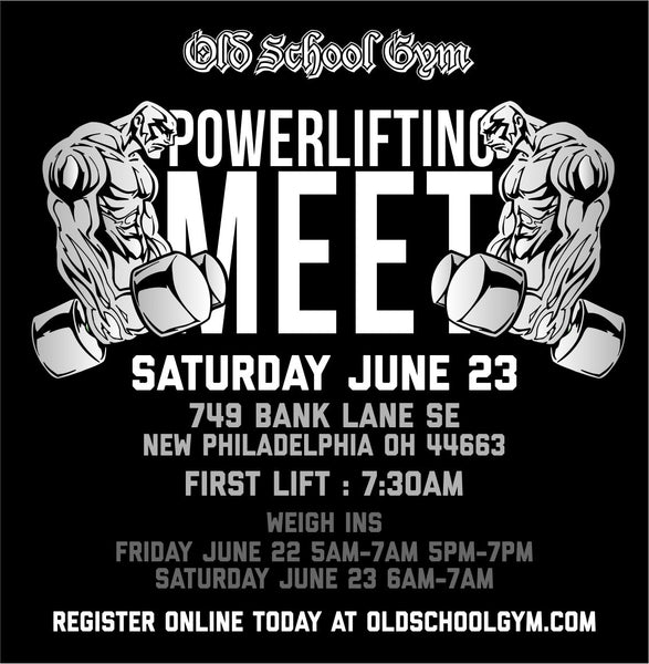 New Philly Full Powerlifting Meet  | Saturday June 23rd  2018