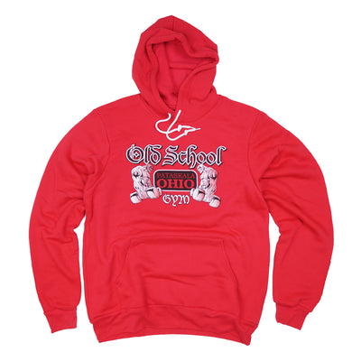 OSG Famous Hoodie Old School Gym Red Hooded Sweatshirt