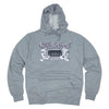 OSG Famous Lightweight Hoodie Grey Old School Gym Sweatshirt