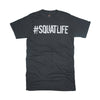 #SQUATLIFE T-Shirt Old Schoolg Gym Tee