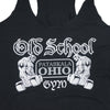 WOMEN'S OSG Famous Tank Top Black Racerback Detail