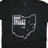 Ohio Valley Strong T-Shirt Black Tee Detail