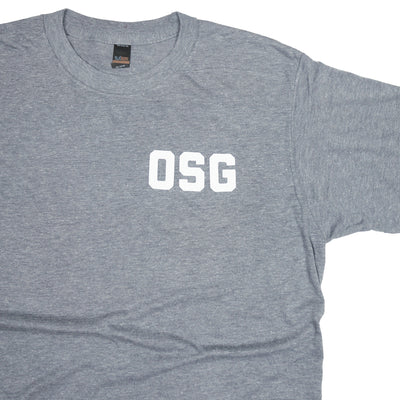 No Shortcuts OSG Tee Grey T-Shirt Detail