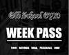 Old School Gym™ WEEK PASS