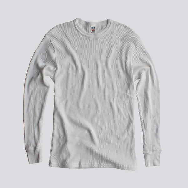 OSG BLUE COLLAR THERMAL LONG SLEEVE TEE - White