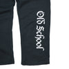 OSG Sweatpants Black Old School Gym Sweats Detail