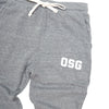 OSG Joggers Grey Old School Gym Sweatpants Detail