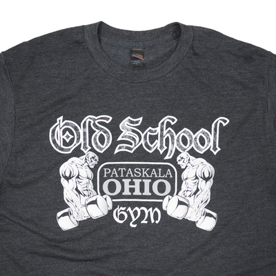 OSG Famous T-Shirt Old School Gym Black Tee Detail