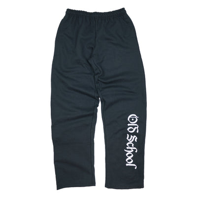 OSG Sweatpants Black Old School Gym Sweats