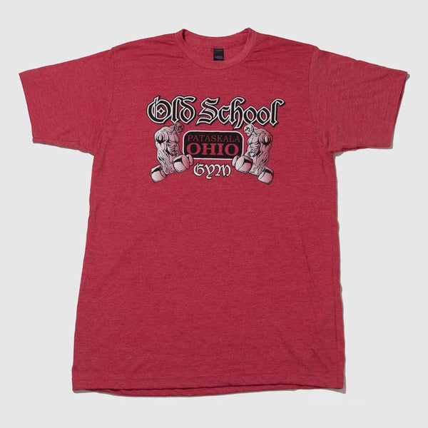 OLD SCHOOL GYM FAMOUS T-SHIRT FRONT