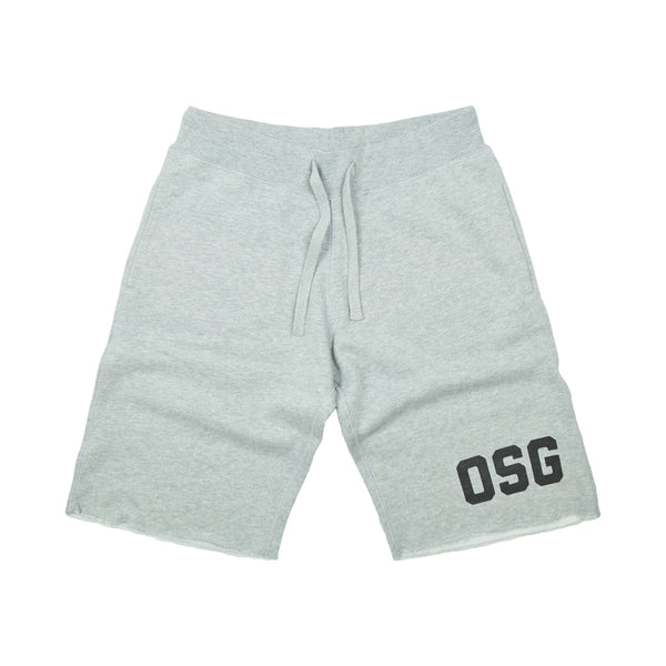 OLD SCHOOL GYM SWEATSHORTS - Grey
