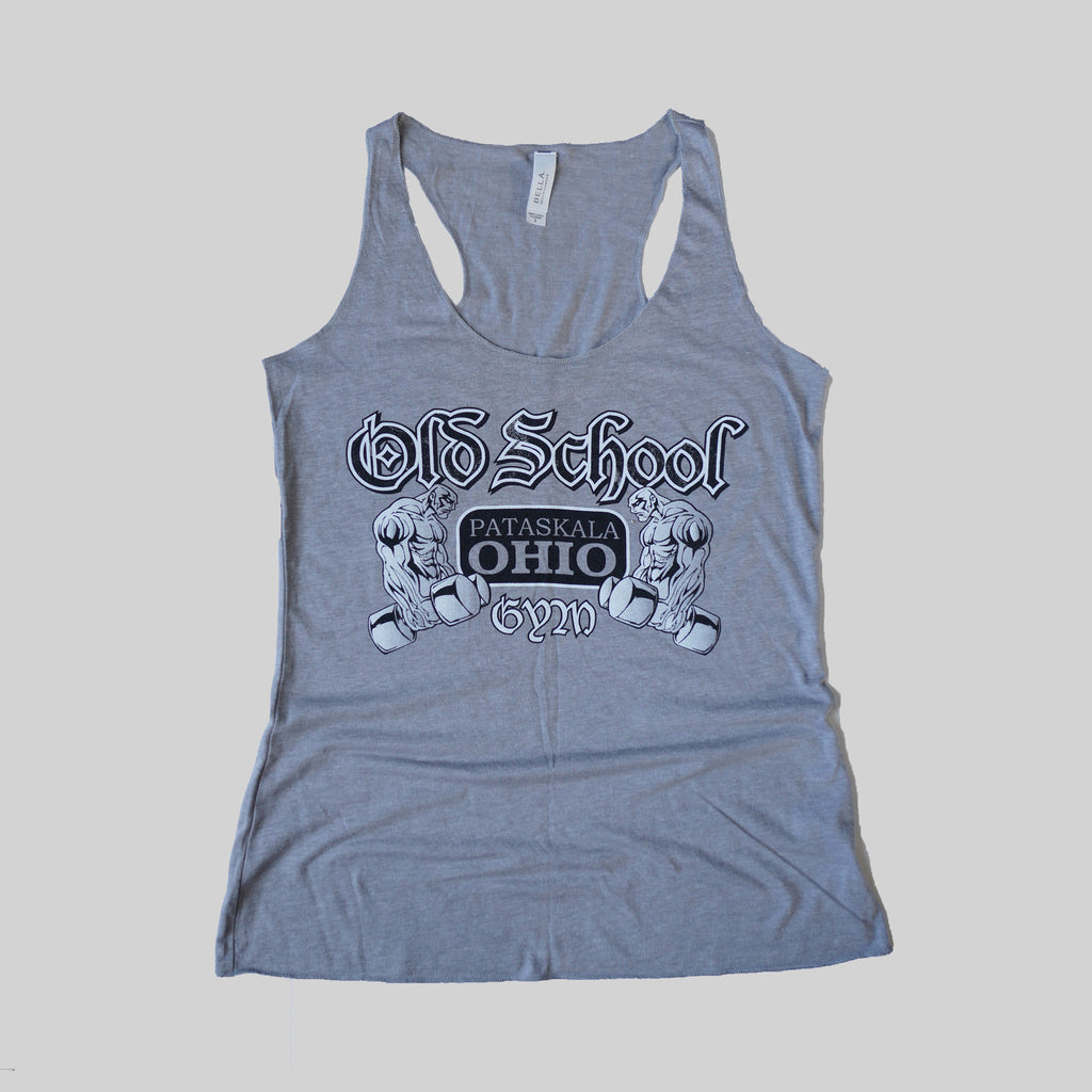OLD SCHOOL GYM FAMOUS TANK TOP - Light Grey