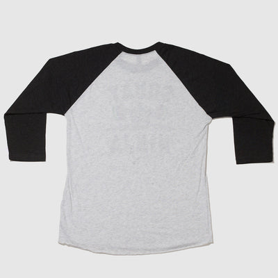 Squat Ninja 3/4 Sleeve Raglan T-Shirt Back