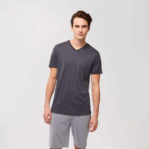 SHORT SLEEVE GEORGIA V-NECK TEE