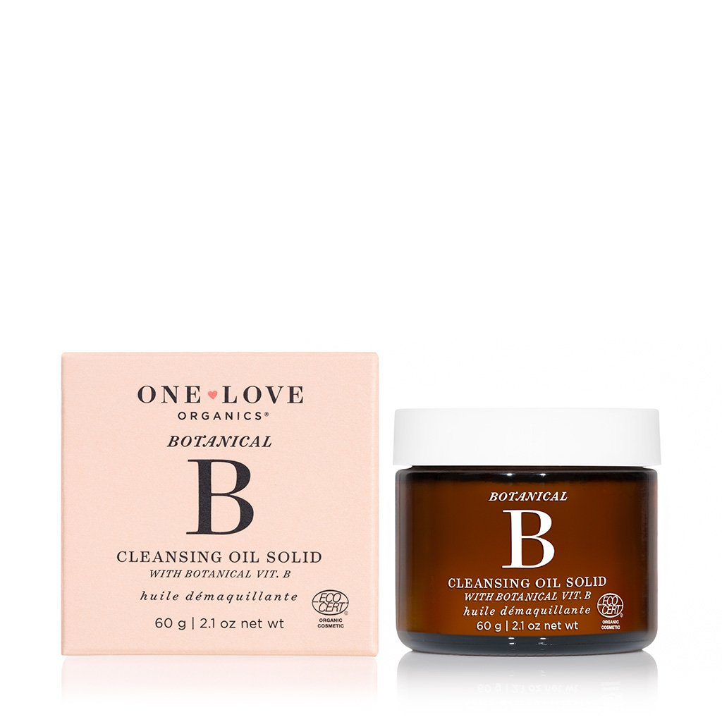 ONE LOVE BOTANICAL B SOLID CLEANSING OIL