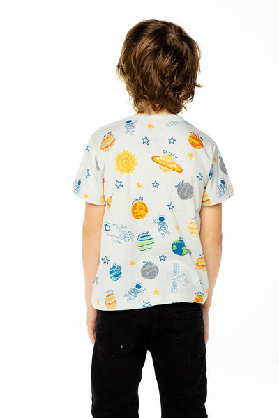 BOYS RECYCLED VINTAGE JERSEY SHORT SLEEVE TEE OUT OF THIS WORLD