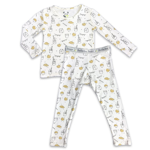 TWO PIECE PJS BELLABU BEAR COOKIE