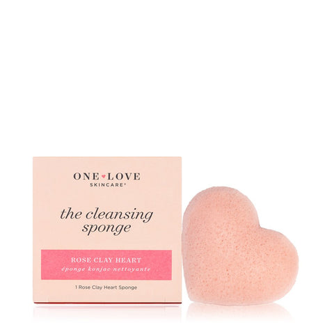 ONE LOVE FRENCH PINK CLAY SPONGE