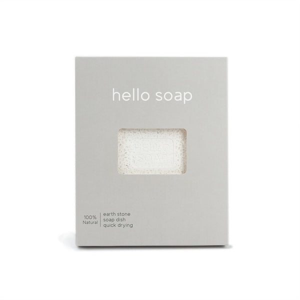 HELLO SOAP DISH - GREY