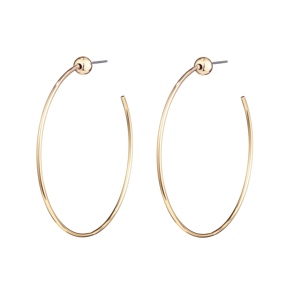 ICON HOOPS SMALL GOLD