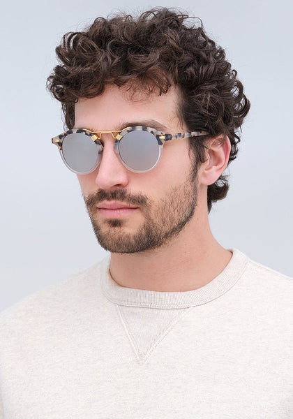 ST LOUIS MATTE OYSTER TO CRYSTAL MIRROR POLARIZED