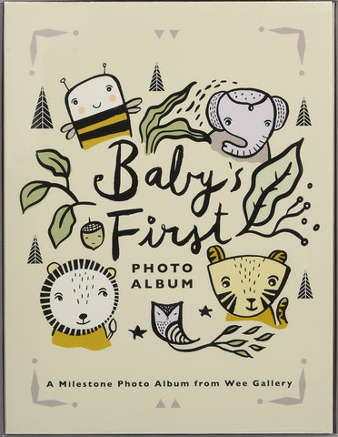 BABY'S FIRST PHOTO ALBUM