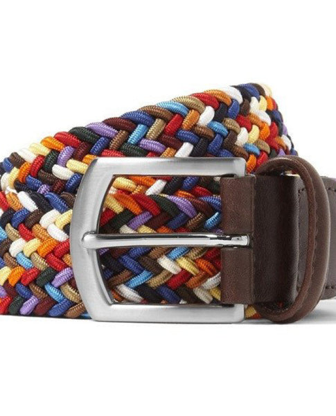 MULTI-COLOR WOVEN STRETCH