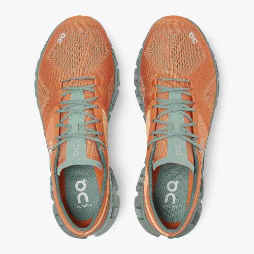 CLOUD X MENS ORANGE/SEA