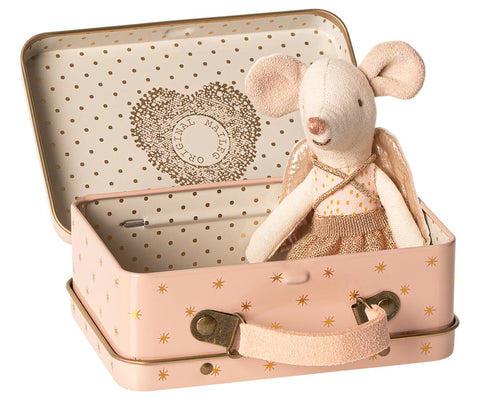 GUARDIAN ANGEL IN SUITCASE, LITTLE SISTER MOUSE