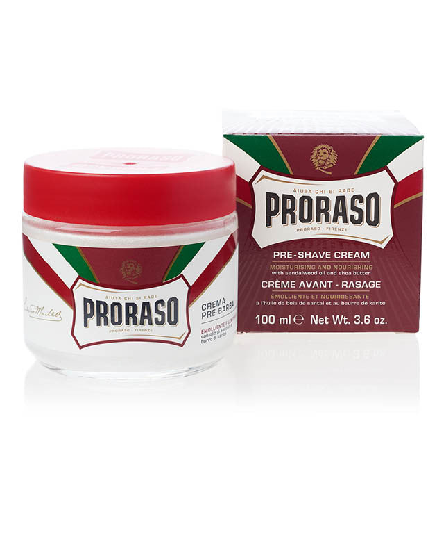 RED: PRE-SHAVE CREAM NOURISH