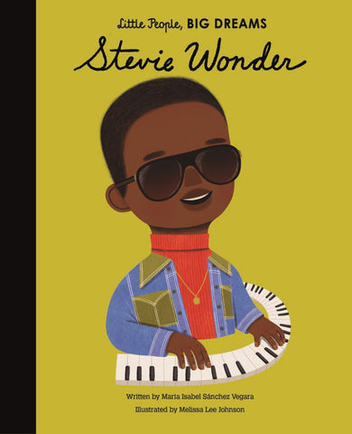 LITTLE PEOPLE, BIG DREAMS BOOK STEVIE WONDER
