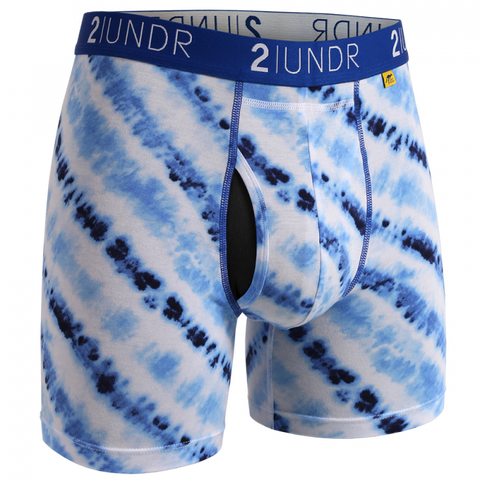 "SWING SHIFT PRINT 6"" BOXER BRIEF"