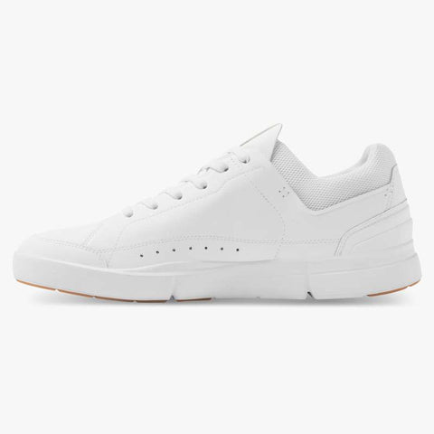 THE ROGER CENTRE COURT MENS WHITE/GUM