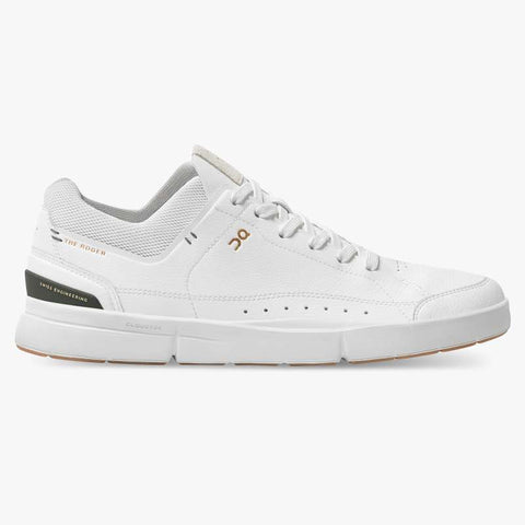 THE ROGER CENTRE COURT MENS WHITE/JUNGLE