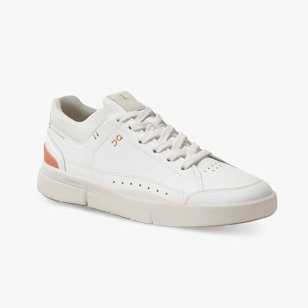 THE ROGER CENTRE COURT WOMENS WHITE/SIENNA