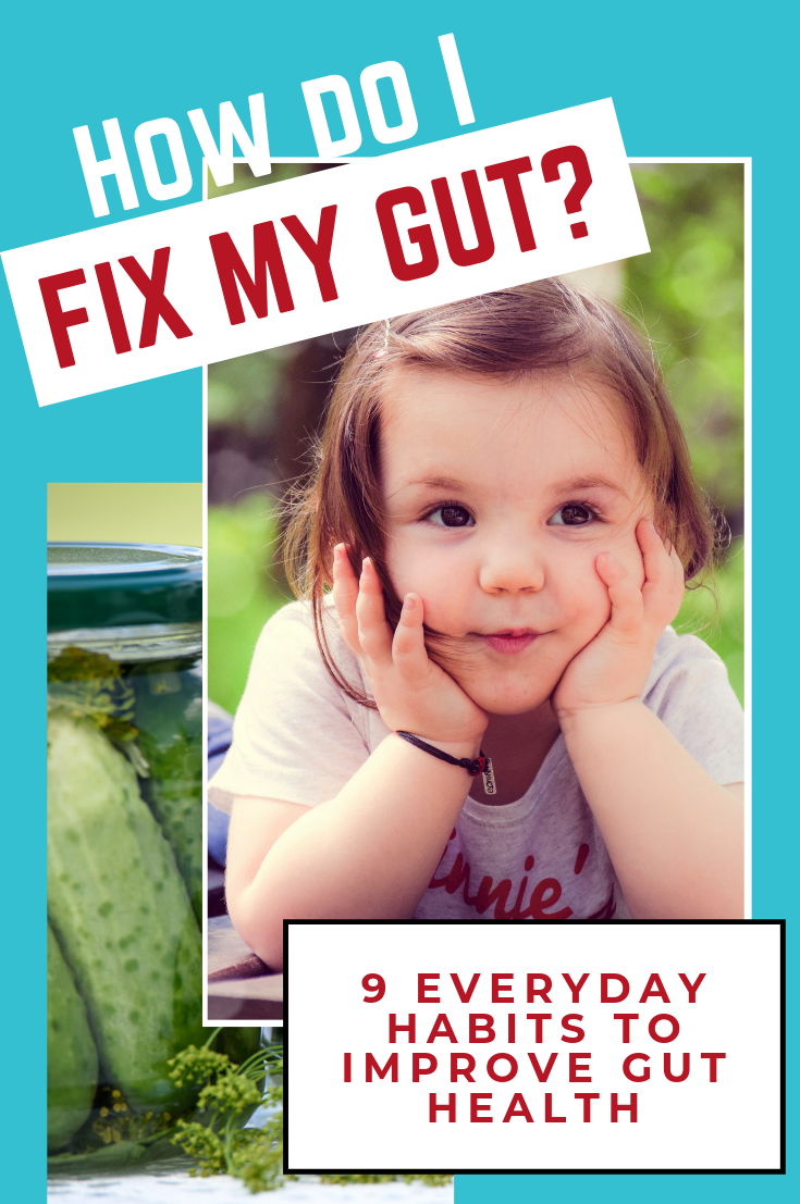 How do I fix my gut?  9 Everyday habits to improve gut health