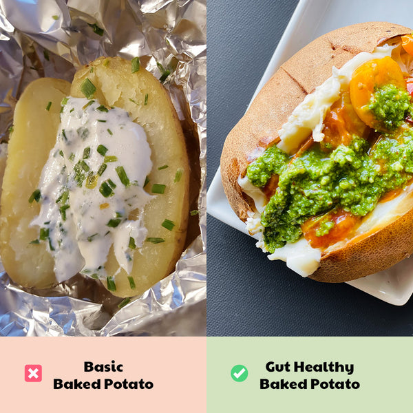 Healthy Game Day Swap: Baked Potato