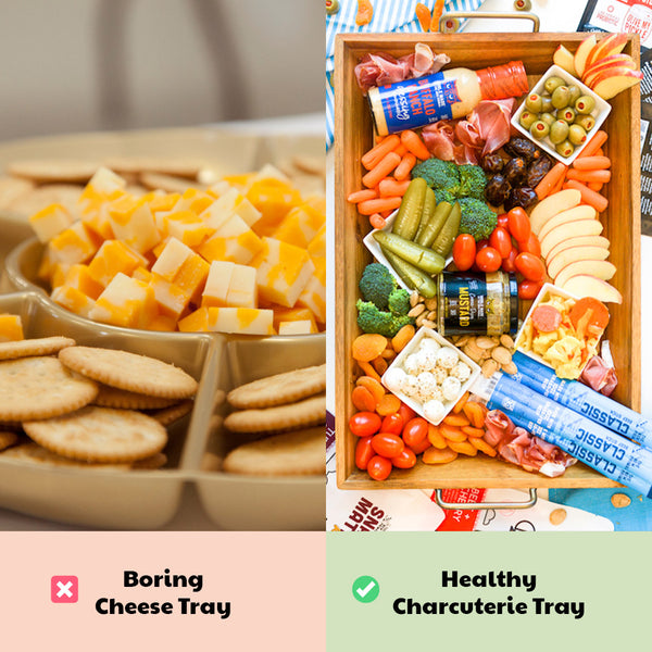 Healthy Game Day Swaps: Cheese Tray
