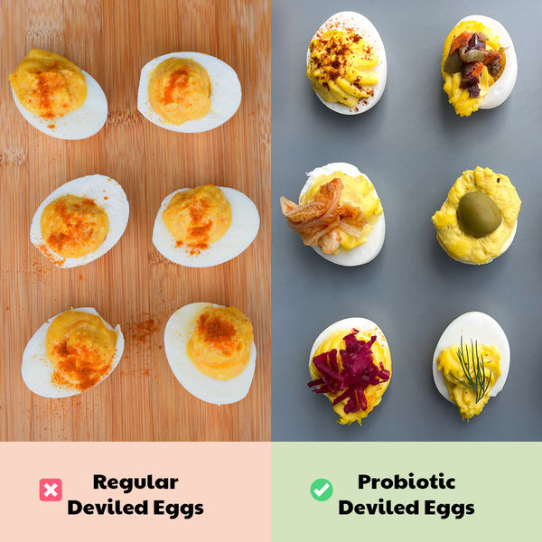 Healthy Game Day Swaps: Deviled Eggs